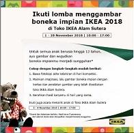 Lomba Menggambar Boneka Impian IKEA 2018
