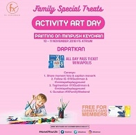 Activity Art Day at fX Sudirman