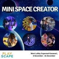Mini Space Creator at Supermall Karawaci