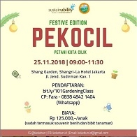PEKOCIL - Petani Kota Cilik