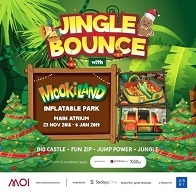 Jingle Bounce with MookiLand at Mall Of Indonesia