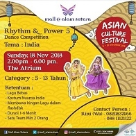 Rhythm & Power 5 Dance Competition at Mall Alam Sutera