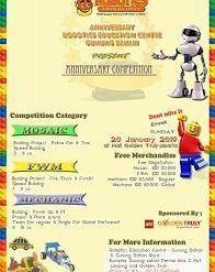 Anniversary Competition Robotics Gunung Sahari