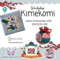 Workshop Kimekomi di Mall Alam Sutera