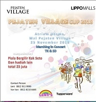 Marching in Concert at Pejaten Village