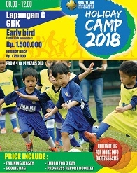 Holiday Camp 2018 - Brazilian Soccer Schools