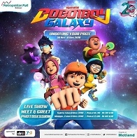 Unboxing Your Prize with Boboiboy Galaxy at Metropolitan Mall Bekasi