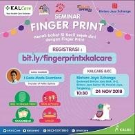 Seminar Finger Print di Bintaro Jaya Exchange