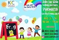 Happy Phonics di Kids Campus Pluit