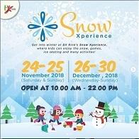 Snow Xperience with BXRink at Bintaro Jaya Xchange Mall