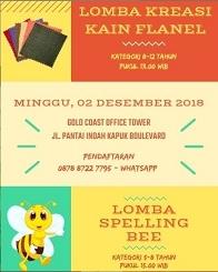 Lomba Kreasi Kain Flanel
