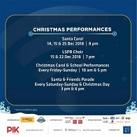 Christmas Performance at PIK Avenue