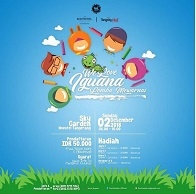 "Lomba Mewarnai ""We Love Iguana"" di Tangcity Mall"