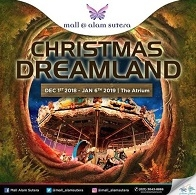 Christmas Dreamland at Mall Alam Sutera