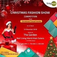 Christmas Fashion Show Competition at Living World Alam Sutera
