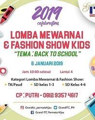 Lomba Mewarnai & Fashion Show Kids di Grand ITC Permata Hijau