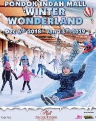 Winter Wonderland di Pondok Indah Mall