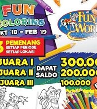 Fun Coloring bersama FUNWORLD