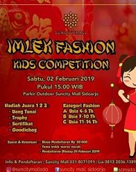 Imlek Fashion Kids Competition di Suncity Mall