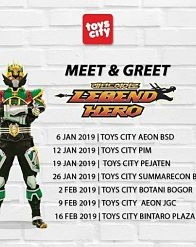 Meet and Greet With the Legend Hero from Toys City