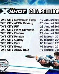 XShot competition from Toys City