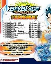 Beyblade Tournament from Toys City