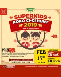 Koko Cici Superkids Hunt 2019