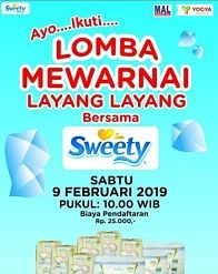 Sweety and Coloring Competition at Mangga Dua Mall