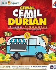 Cemal Cemil Durian Fruit on Blok M Square