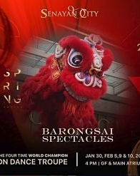 Barongsai Spectacles di Senayan City