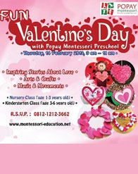 Fun Valentine's Day with Popay Montessori Preschool