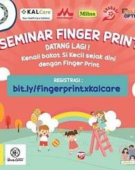 Seminar Finger Print Analysis di KALCare