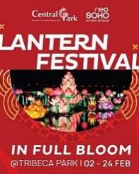 Lantern Festival di Central Park