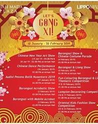 """Event """"Let's Gong Xi"""" di Gajah Mada Plaza"""