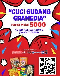 Cuci Gudang Gramedia 2019