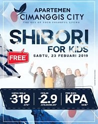 Cimanggis City Shibori For Kids