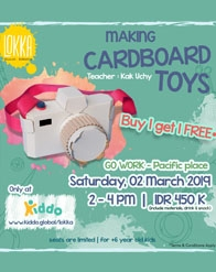 Making Cardboard Toy by Lokka Studio