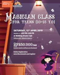 Magician Class for Teens (10-15 yo)