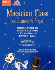 Magician Class for Junior (6-9 yo)