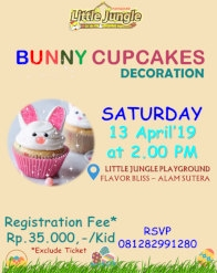 Bunny Cupcakes Decoration