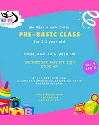 Pre-Basic Class by Fast Gym