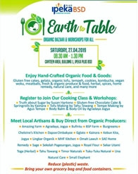 Earth to Table - Organic Bazaar & Workshops for all