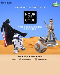 Hour of Code by KodeKiddo