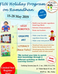 Fun Holiday Program on Ramadhan