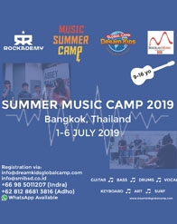 Summer Music Camp 2019, Bangkok Thailand