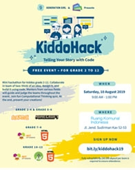 KiddoHack - Telling Your Story with Code