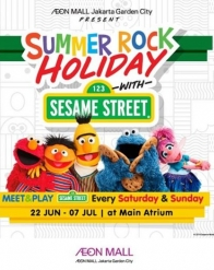 Summer Rock Holiday di AEON MALL Jakarta Garden City