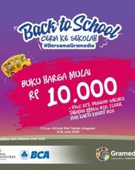 Back to School Ceria ke Sekolah #BersanaGramedia