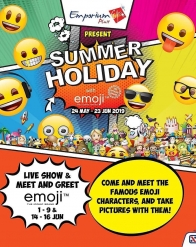 Summer Holiday with Emoji