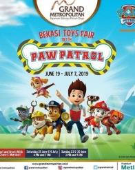 Bekasi Toy Fair dengan Paw Patrol di Grand Metropolitan